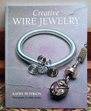 Creative Wire Jewelry by Kathy Peterson NEW PB B4