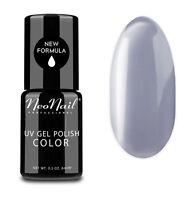 NeoNail LED UV Nagellack UV Polish Gel 6 ml - Silver Grey
