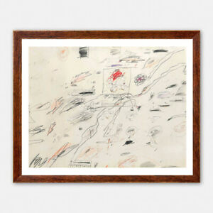 Cy Twombly - Untitled, Giclee Print, Large Wall Art Christmas New Year's Gift