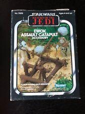 Star Wars Vintage MINIRIG ROTJ EWOK ASSAULT CATAPULT with Box