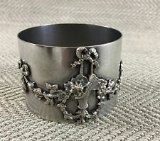Antique Napkin Ring Monte Carlo Monaco French Silver Plate Plated