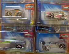 2004 HW First Edition ZAMAC SET of 4. Merc Two2Go, Modena, Dairy Delivery MOMC