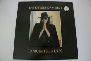 the sisters of mercy  panic in their eyes  picture disque tres rare  ltd 100 ex.