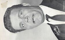 (543)  Vintage Photograph Actor Cid Caesar signed