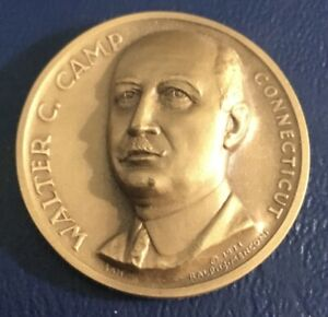 Medallic Art Co. Statehood Connecticut Walter Camp Coin Medal
