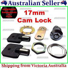 New: 17 mm Cam Lock / Door Lock - ARCADE / MAME / PINBALL - MACHINE