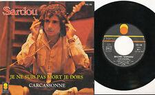 MICHEL SARDOU 45 TOURS FRANCE JE NE SUIS PAS MORT (HOMMAGE CLAUDE FRANCOIS) (2)