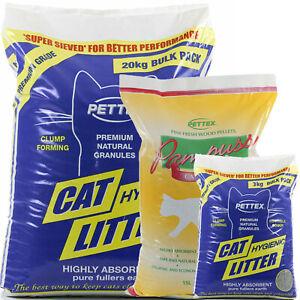 Cat Litter Pine Wood Pellets or Gravel Clumping Kitten Ultra Hygienic CatCentre®