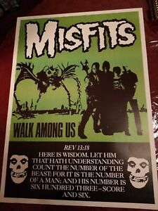MISFITS WALK AMONG US POSTER
