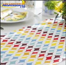 Table Runner - RETRO PATTERN - Printed Tissue Colourful Decoupage Tableware