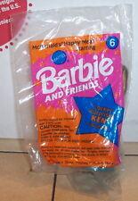 1994 Mcdonalds Happy Meal Toy Barbie #6 Locket Surprise Ken MIP