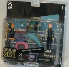Palisades Adult Swim Action Figure Sealab 2021 Exclusive BIZARRO DEBBIE & QUINN