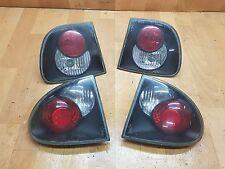 Seat Leon 1M Rückleuchten Rücklichter schwarz dunkel Tuning