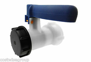 IBC Tank S60X6 Replacement Valve Tap Water Oil Container  pack of 1