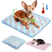 Kühldecken Kühlmatte für Hunde Katzen Rutschfest Kühlung Hundebett Hundekissen