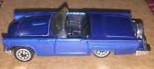 Hot Wheels Ford Thunderbird Dark Metallic Blue Hood Opens