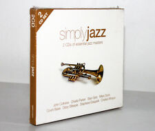 SIMPLY JAZZ [SLIPCASE - 2 CD'S OF ESSENTIAL JAZZ MASTERS 2009] 698458020321