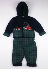 Baby Boys CARRIAGE BOUTIQUES Padded Jacket & Trousers Outfit 12 Months BNWoT