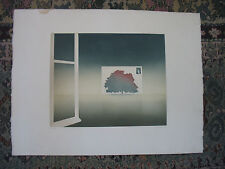 Dated 1978 Aquatint print by JEAN SOLOMBRE b 1948 FRench 75/125 ART Work
