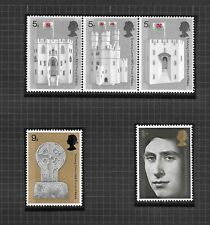 GB 1969 Prince of Wales Investiture SG802-806 MNH Set