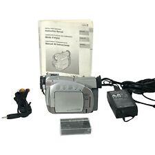 New ListingCanon Zr50Mc Mini Dv Camcorder, Battery, 1- 60 min Tape, Power, Av Cord, Manual