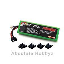 Venom 20C 2S 5000mah 7.4v LiPO Hardcase Car uni-plug (VNR1555)