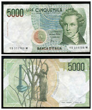 ITALIE  ITALY  5000 lire  1985  YD 377706