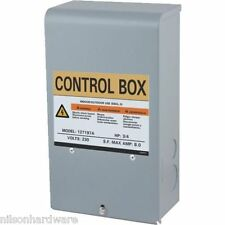 Star Water Pump Control Box 3 Wire Submersible Water Well 3/4 HP 230V 127197A