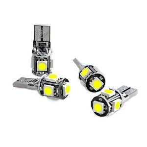 UPTO 10X T10 501 194 168 W5W 5SMD LED ERROR FREE CANBUS Car Side Light Bulb