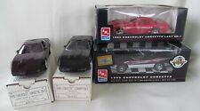 Lot of 4 1995 Corvette promotional models LAST ZR1 Indy Pace Car Purple ZR1 Blac