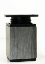 Aluminium Möbelfuß Möbelfüße Sockelfuß Schrankfuß Fuße 40x40x 60 mm verstellbar