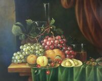 Original Oil Painting The Still Life #1 16 x 20 Inches