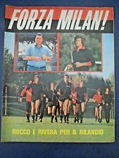 """RIVISTA """" FORZA MILAN ! """" NOVEMBRE 1975 N.11 - ROCCO / RIVERA / TRAPPATTONI"""