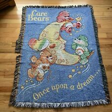 Care Bears Throw Blanket 42x58 Northwest Co. USA Made Acrylic Once Upon A Dream