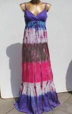esprit EDC Batik-Maxi Kleid 36 hippie ethno bodenlang
