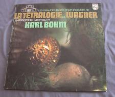"""Vinilo LP 12"""" 33 rpm LA TÉTRALOGIE DE WAGNER - KARL BÖHM"""