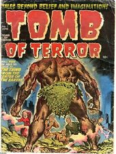 TOMB OF TERROR GOLDEN AGE COMICS PDF FORMAT ON CD