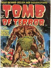 TOMB OF TERROR GOLDEN AGE COMICS PDF FORMAT ON CD