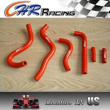 silicone radiator hose FOR Kawasaki KX250 KX 250 1999 2000 2001 2002 99 00 red
