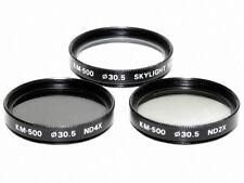 30,5mm. set filtri skylight 1A, ND x2 e ND x4