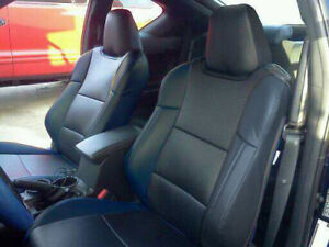 SCION TC 2010-2014 IGGEE S.LEATHER CUSTOM FIT SEAT COVER 13COLORS AVAILABLE