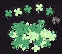 "Shamrock Confetti, 120 pcs. 1"" Shamrocks, Irish Confetti, Ireland, Die Cuts"