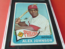 1965  TOPPS  #  352   ALEX  JOHNSON    SGC  86   !!