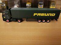 (P5) Herpa LKW H0 1:87 Scania Sattelzug Freund