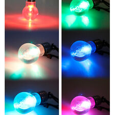 Personality LED Light Bulb Torch Change Color Necklace For Party New Hot Sale