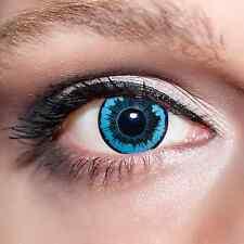 Blaue Kontaktlinsen Engel farbige Motivlinsen Blau Blue Angel Eyes Contacts;K534