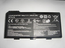 original battery MSI A7000 CR500 CR600 CR610 CR630 CR700 CX623 CX500 BTY - L74