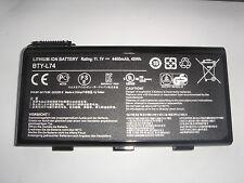 Batterie D'ORIGINE MSI BTY-L74 BTY-L75 BP-M173BK-30/2200 S GENUINE Battery ACCU