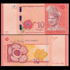 Malaysia - 10 Ringgits - UNC currency note - 2012 issue