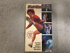 Full Contact (1993) - VHS - Action - Kickboxing -Promo / Screener - NEW - RARE